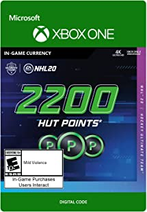 Amazon com: NHL 20 Ultimate Team Points 2200 - [Xbox One