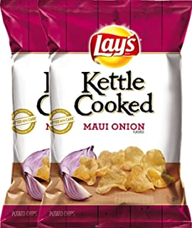 product image for LAY'S Kettle Cooked Maui Onion Flavored Potato Chips 8 Oz (2)