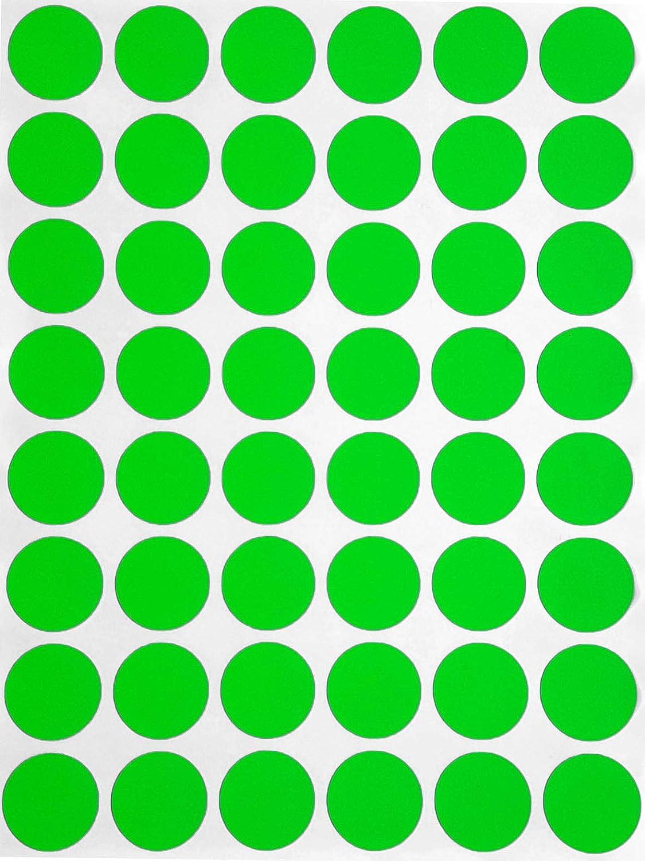 Sticker Gold 17mm runde Klebepunkte in verschiedenen Farben Gr/ö/ße 1,7cm Durchmesser Aufkleber 336 Vorteilspack von Royal Green