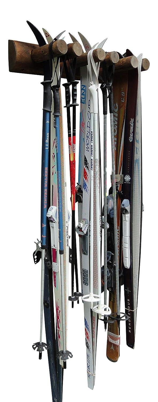6 Place Wall Ski Rack