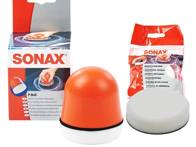 Sonax P – Balón de auftragspad + Sonax pelota de esponja de ...