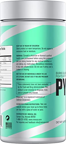 Pyros Healthy Weight Loss for Men and Women. Energy Boosting, Lean Supplement, Thermogenic Fat Burner Metabolism Boost. Helps Toning Up and Slimming Down.