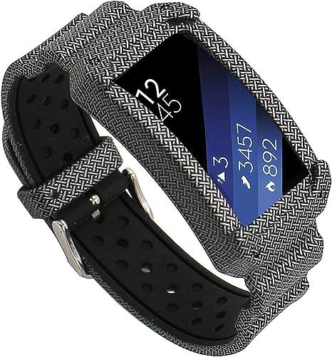 EL-move para Samsung Gear fit2 correa de silicona reloj pulsera ...