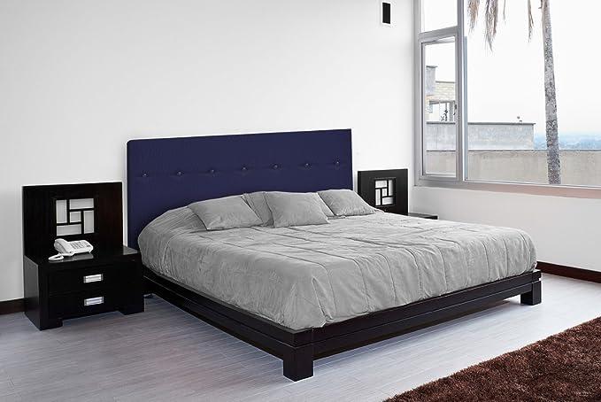 SUENOSZZZ - Cabecero Dakota (Cama105) 115X120 Cms. Color Azul: Amazon.es: Hogar