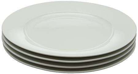 Maxwell Williams 27.5 cm Porcelain Basics Rim Dinner Plate Set of 4 White  sc 1 st  Amazon UK & Maxwell Williams 27.5 cm Porcelain Basics Rim Dinner Plate Set of 4 ...