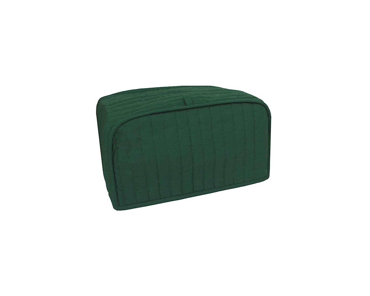 RITZ Polyester / Cotton Quilted Toaster Oven Broiler Appliance Cover, Dust and Fingerprint Protection, Machine Washable, Dark Green