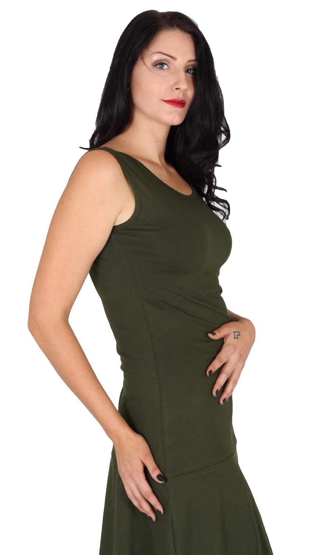 FAIR & GLOBAL Women's Plain Dress Green Green