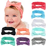 Newest Baby Headbands Turban Knotted Girl Hairbands Toddler Childrens