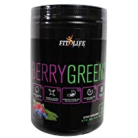 Fit Life USA - Berry Greens - Premium Drink Powder 300 Grams