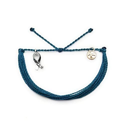 Amazon Com Ovarian Cancer Awareness Bracelet Non Braided Style In Support Of Love Ones Battling Cancer Handmade