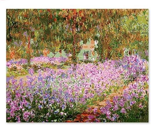 Pintura digital Pintura decorativa Color pintado tu propio jardín ...