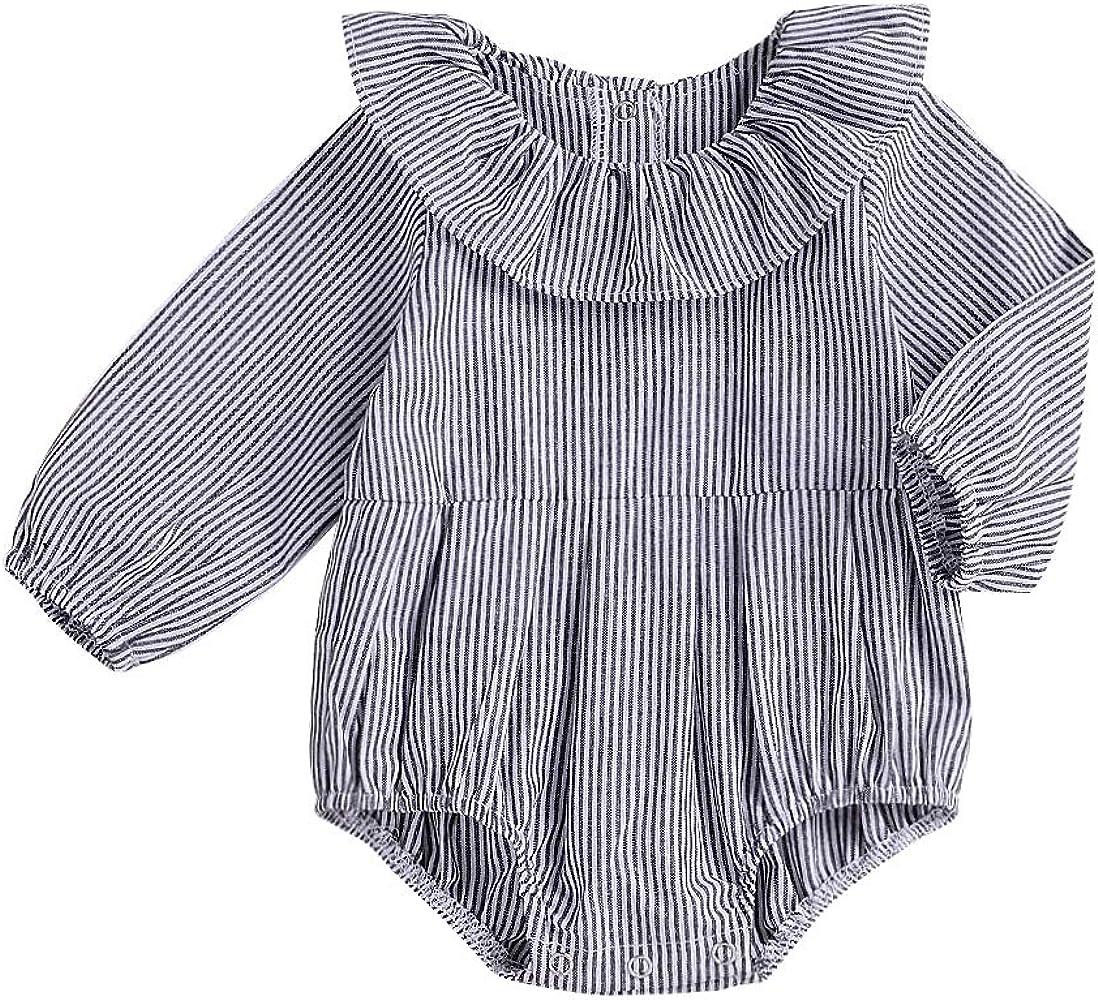 Wang-RX Bebé recién Nacido niña de la Raya de los Mamelucos de ...