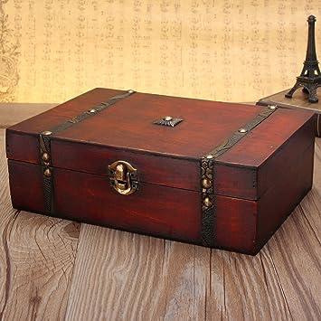 Bluelover Grosse Vintage Holz Aufbewahrungsgeschenk Sussigkeiten