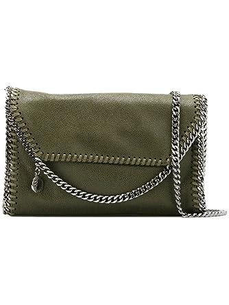 736e6bb4a322 Stella Mccartney Women s 364519W91323200 Green Polyester Shoulder ...