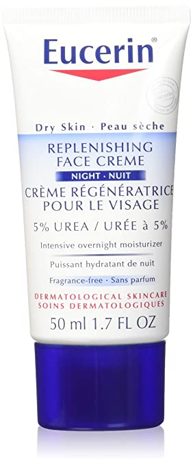 eucerin replenishing face cream