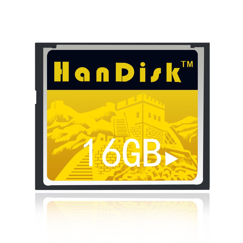 handisk CF tarjeta 3 años de garantía de sustitución ilimitada CF tarjeta de memoria 8GB