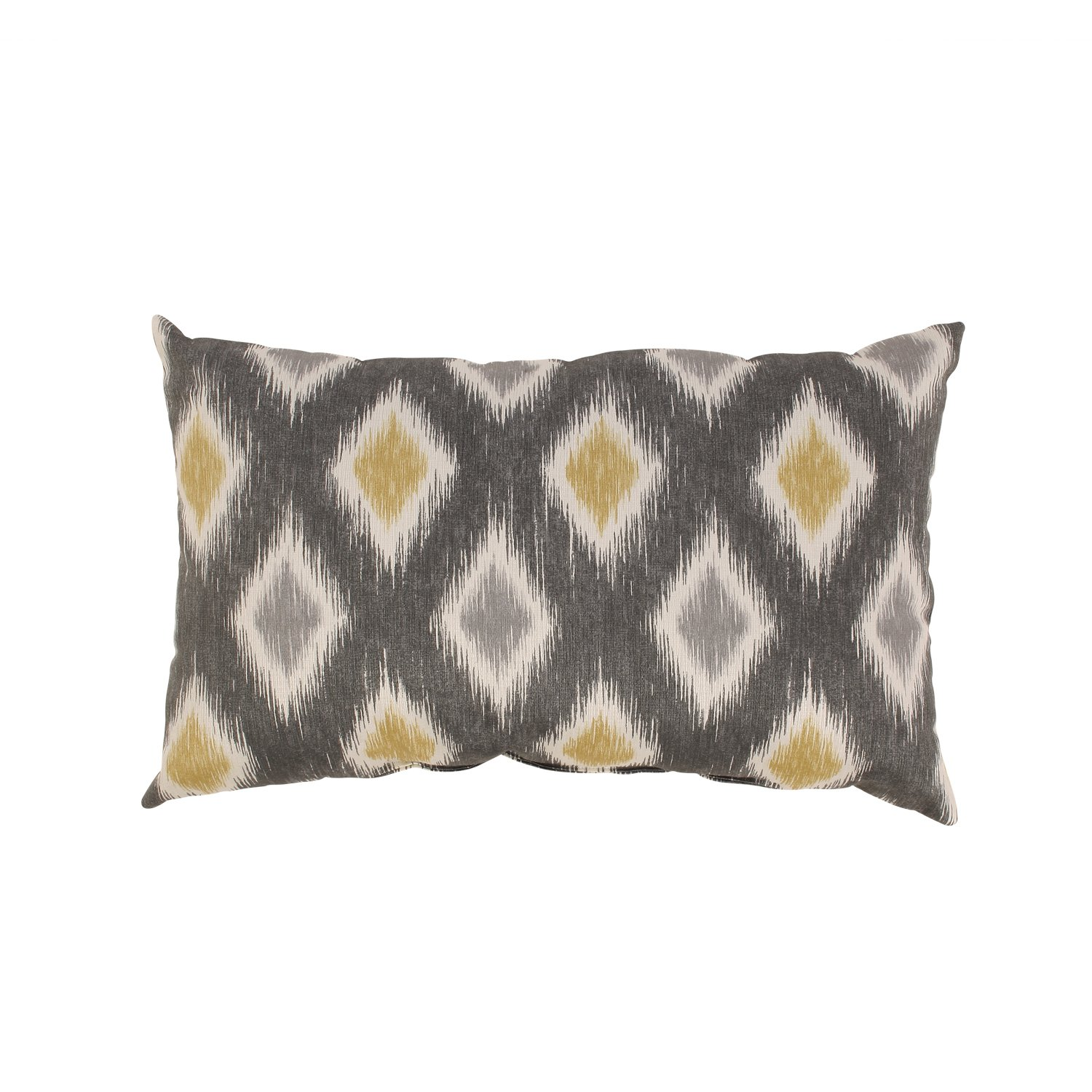Pillow Perfect Rodrigo Rectangular Throw Pillow, Graphite