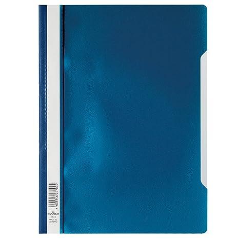 Durable 257303 - Carpeta para documentos (plástico, 50 unidades, A4), color