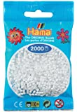Hama - 501 - 01 - sachet de 2000 perles mini - (petites perles Ø2,5 mm) - Blanc
