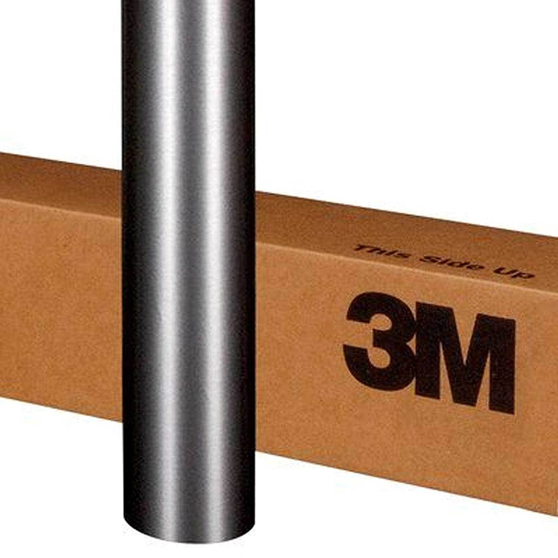 3M 1080 BR201 BRUSHED STEEL 5ft x 2ft (10 Sq/ft) Car Wrap Vinyl Film