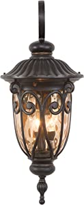 Yosemite Home Decor 519LDIORB Viviana Collection Eleven-Inch Incandescent Exterior, 1-Light Wall Sconce/27.50, Oil-Rubbed Bronze, 98 Piece