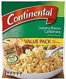 Continental Creamy Bacon Carbonara Pasta & Sauce Value Pack 145g