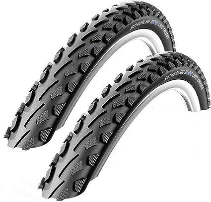 """26/"""" Bike Tyre Clincher Schwalbe Land Cruiser Plus Wire 26X2.0/"""" Black//Reflex"""