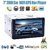 MKChung 7 Inch Wireless WiFi Car GPS Navigation