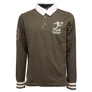 Beverly Hills Polo Club 4299K Polo uomo Green Polo t-Shirt Man ...