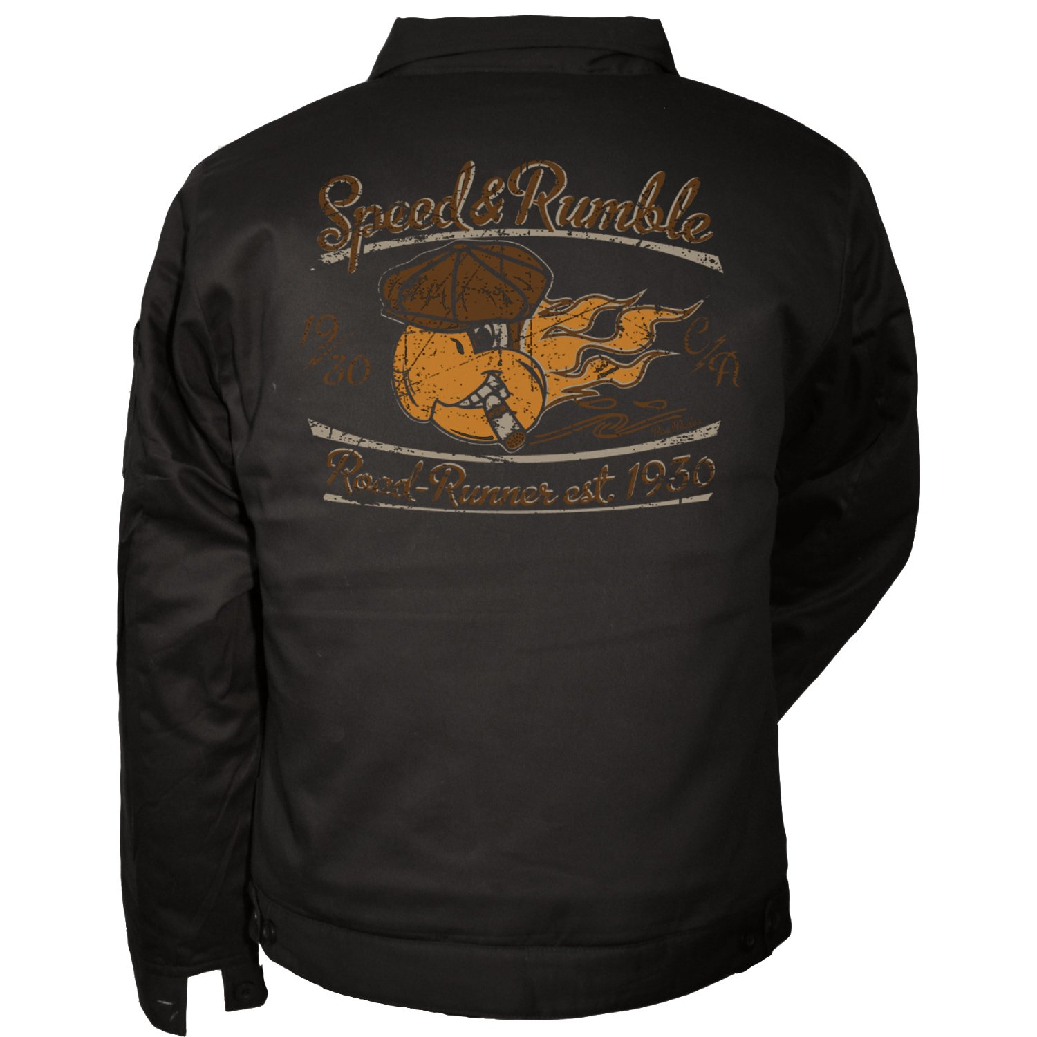Worker jacket, US Car, Rock'n'Roll, Hot Rod, V8, Speed and Rumble