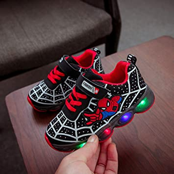 Amazon.com: BIG LION EU Size 21-36 Led Shoes Baby Girl ...