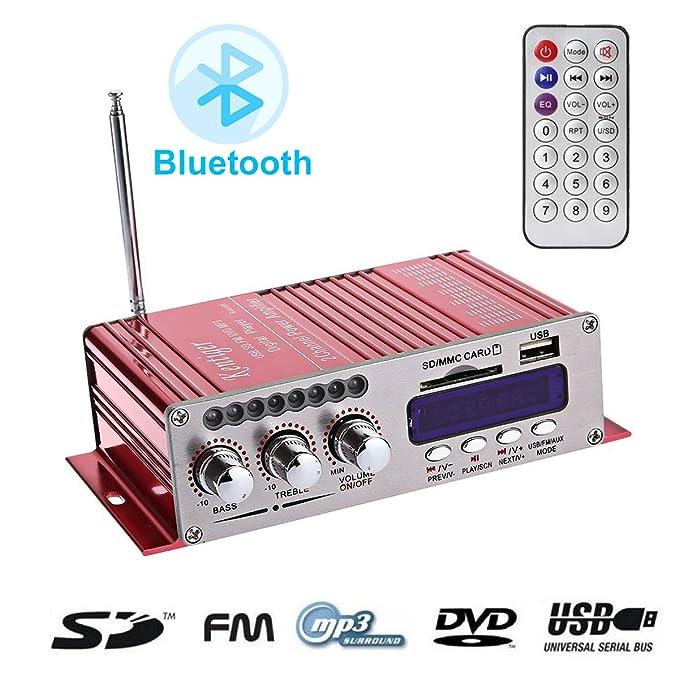 Amazon.com: WINGONEER - Amplificador de audio estéreo ...