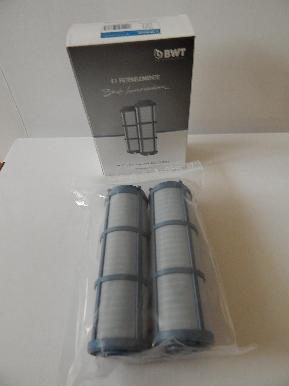 BWT Lot de 2 é lé ments filtrants pour filtre hygié nique BWT E1