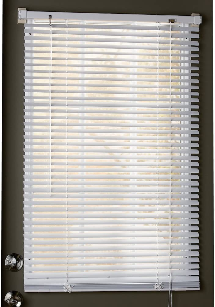 Amazon Com Collections Etc Easy Install Magnetic Blinds 1 Mini Quick Snap On Snap Off For Steel Metal Door Windows White 25 X 68 Home Kitchen