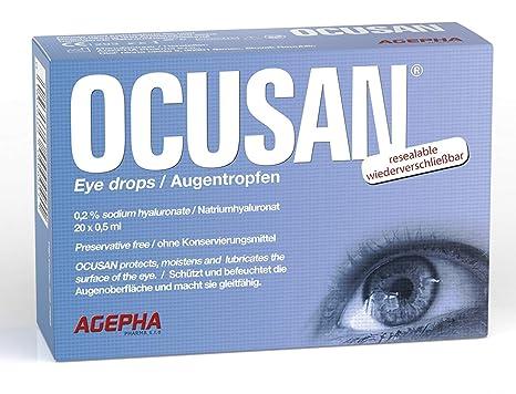 4624a98384 OCUSAN Gotas Hidratantes para Ojos Secos   Dosis Individual Solución sin  Conservante   Lubricante Ocular con