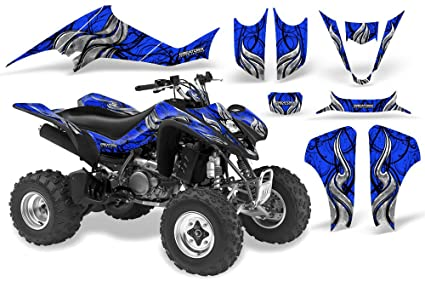 Amazoncom Creatorx Suzuki Ltz 400 Graphics Kit Decals Fire Blade