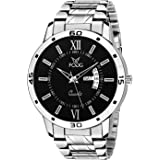 Fogg Analog Black Day and Date Men's Watch 2047-BK