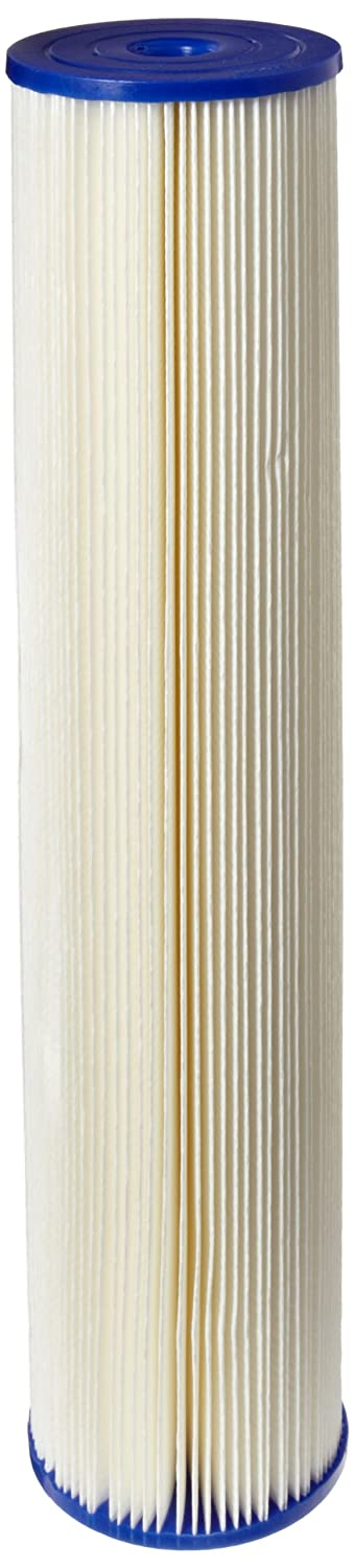 Pentek ECP20 20BB Pleated Cellulose Polyester Filter Cartridge 20 x 4 1 2 20 Microns