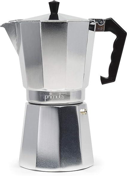 Primula 12-Cup Aluminio Parte superior del hornillo Cafetera ...