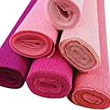 4pcs, Color: 4th of July Just Artifacts Assorted Premium Crepe Paper Rolls 8ft Length//20in Width