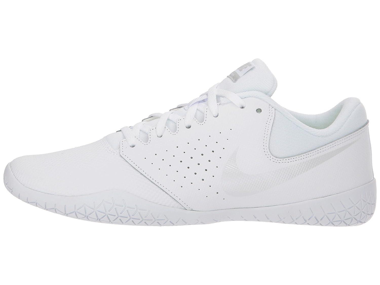 NIKE Women's Cheer Sideline IV Cheerleading Shoes B0761YB9W1 8 B(M) US|White/Pure Platinum