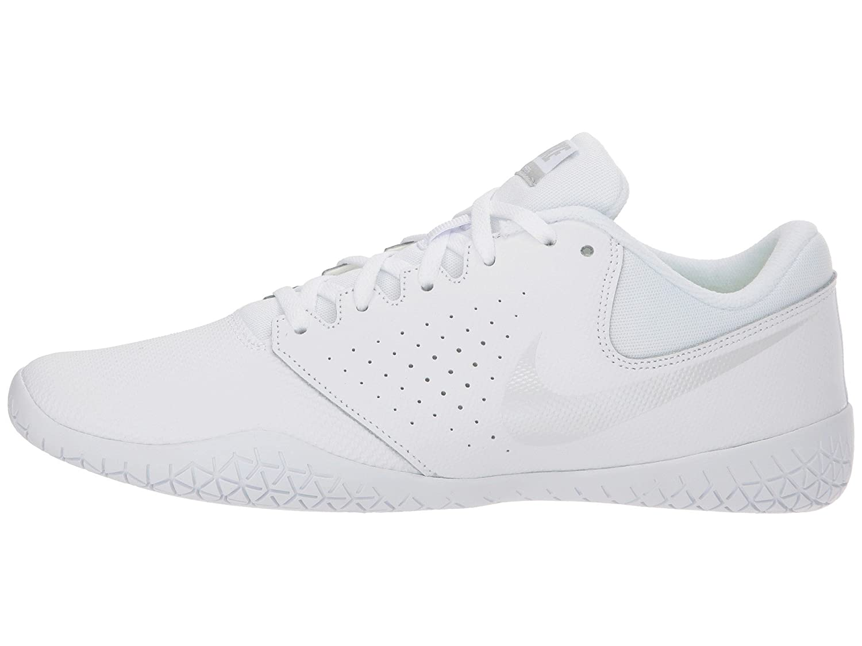 NIKE Women's Cheer Sideline IV Cheerleading Shoes B0761X6Z3N 7.5 B(M) US|White/Pure Platinum