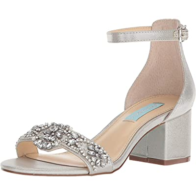 Betsey Johnson Women's Sb-Mel Heeled Sandal | Heeled Sandals