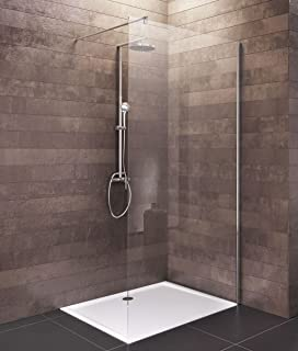 klapptür für dusche bad 800 mm x 1400 mm umschaltbar: amazon.de ... - Dusche Klapptur
