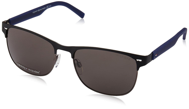 Amazon Nr 1401s de Hilfiger Mttblck es Unisex de sol No Azul Adulto Tommy Gafas Ropa 56 FOqqY