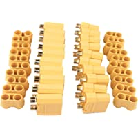 5 Pairs XT90 Conector Male and Female Connectors with Cap for RC Car Helicopter