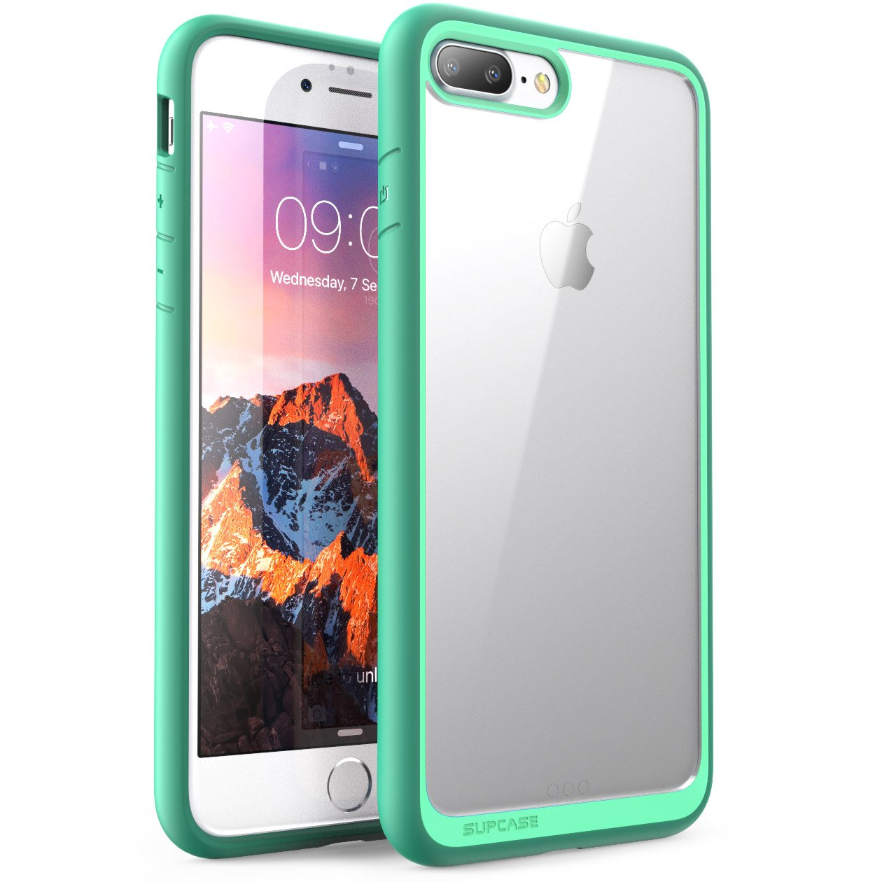 iphone 8 plus case. iphone 7 plus case, 8 supcase unicorn beetle style premium hybrid protective clear case for apple 2016 / 2017: iphone