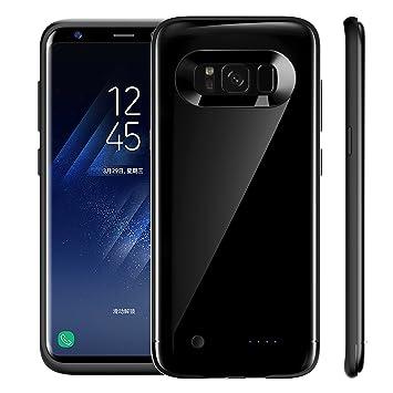 Samsung Galaxy S8 Cargador de Batería Funda, TOTOOSE 4200mAh Batería de Reserva Externa Portátil PowerBank Protectora Subir Soporte Banco Externo de ...