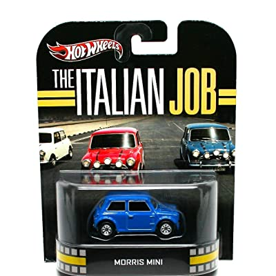 Hot Wheels Retro The Italian Job 1:55 Die Cast Car Morris Mini: Toys & Games