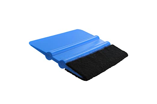 LUVODI 4 Inch Squeegee Tool Pro Vinyl Wrapping Car Felt Edge Scraper Vehicle Window Tint Decal Applicator